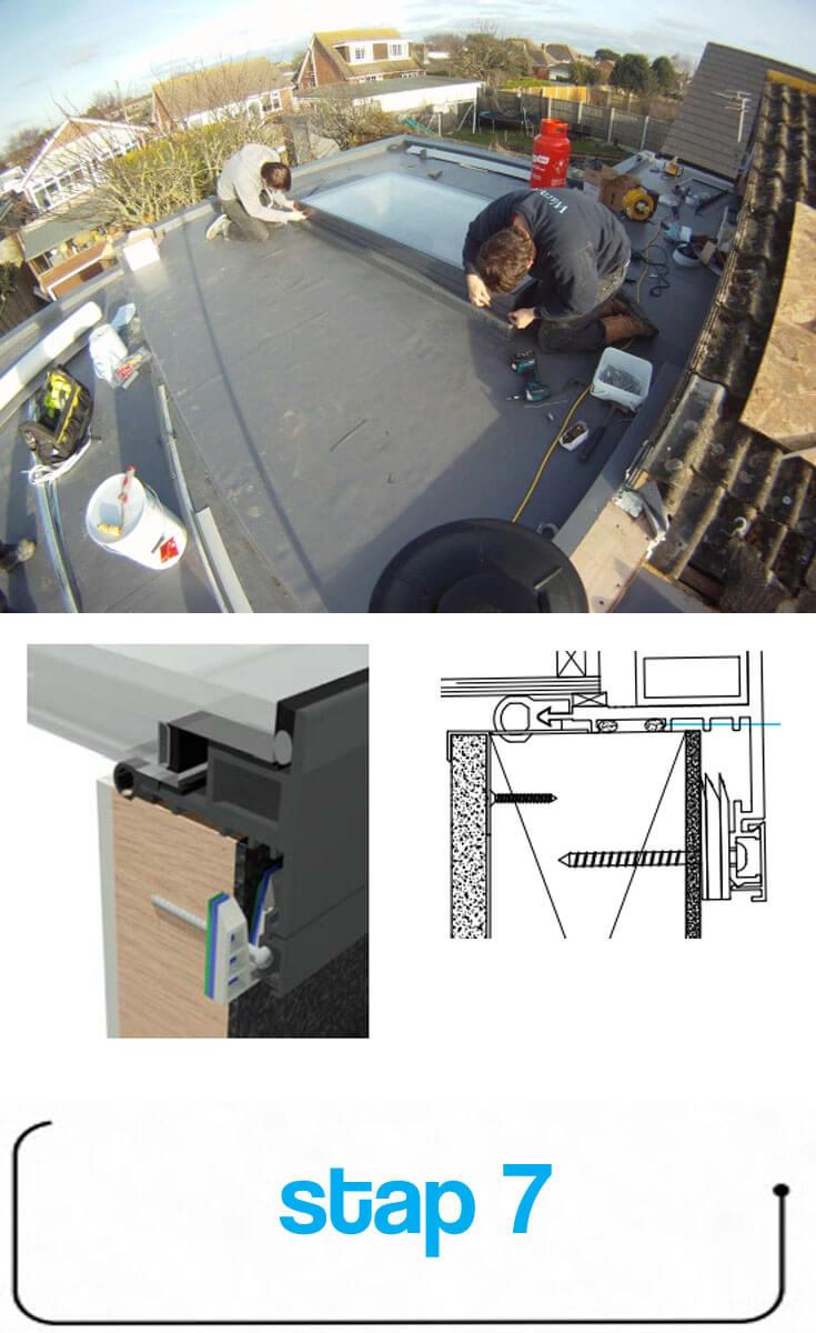 Etape 7 : Replacer la bande en aluminium