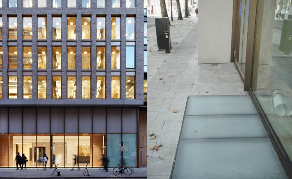 Fenêtres de toit sur mesure le long du bâtiment