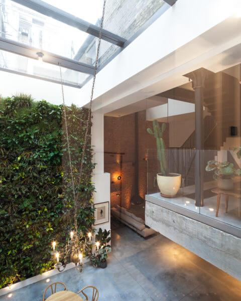 Fenêtre de toit coulissante dans The Cooperage à Londres