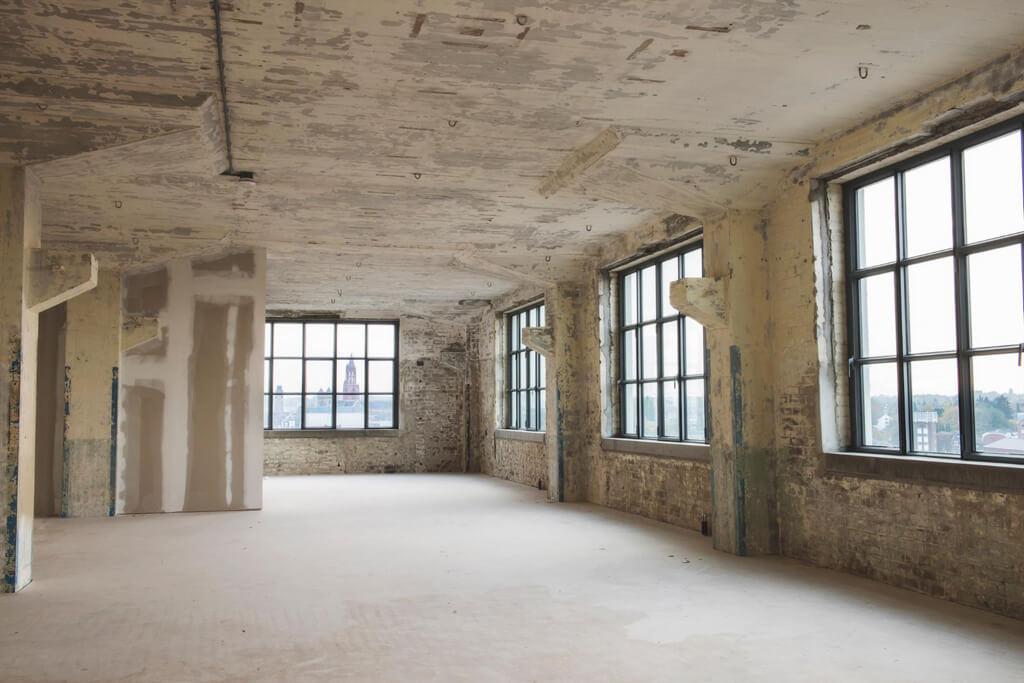 Lofts industrielle avec terrasse sur le toit