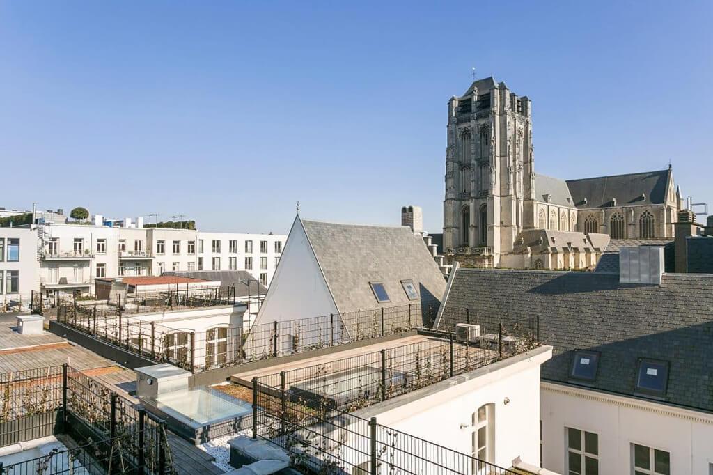 Skydoor Jardin de ville à Anvers