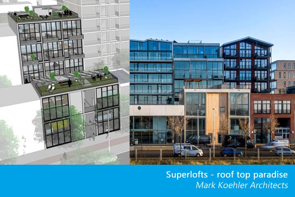 Le concept Superlofts est un concept architectural, qui signifie « faites-le vous-même, ensemble ».