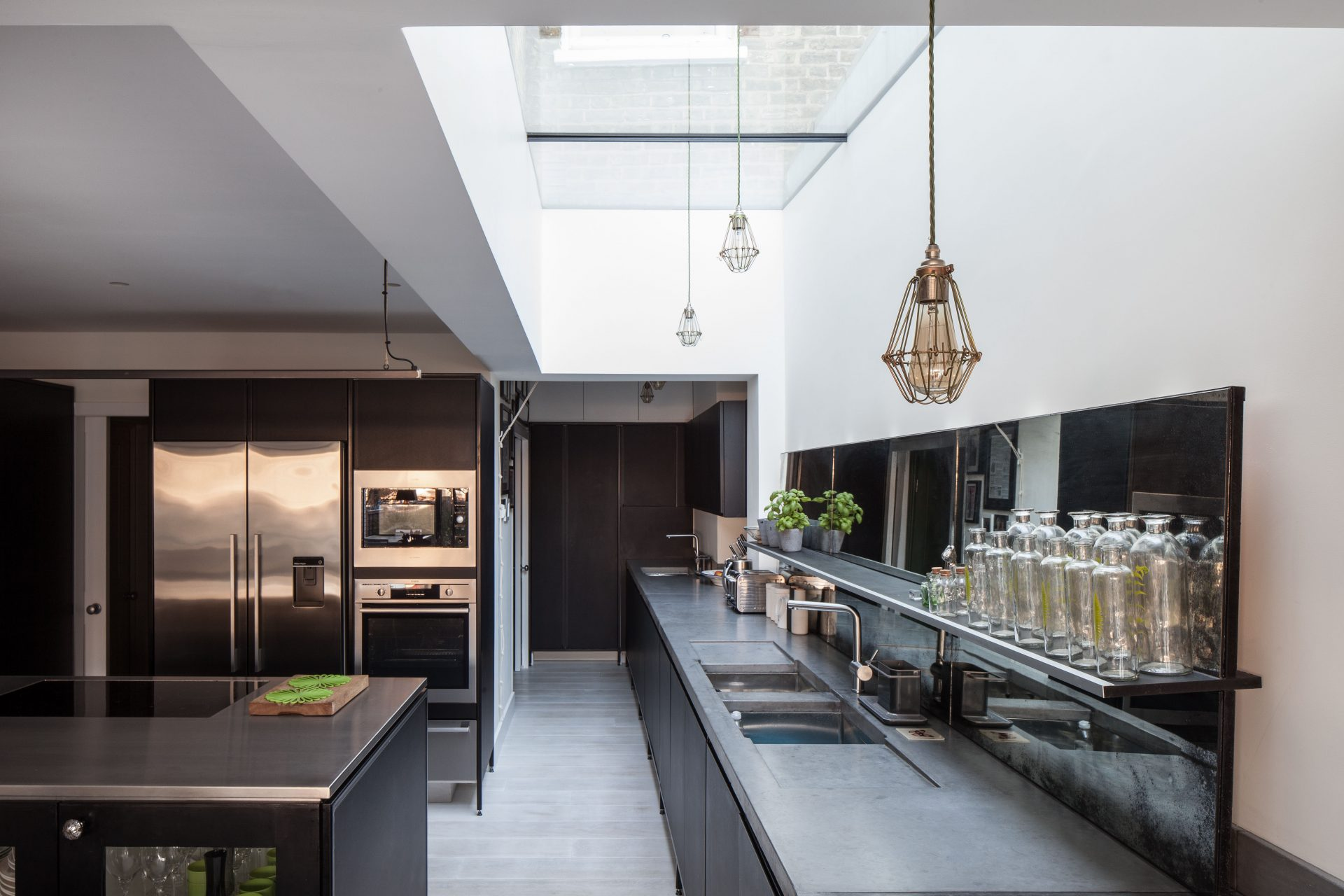fen tre de toit fixe modulaire glazing vision europe. Black Bedroom Furniture Sets. Home Design Ideas