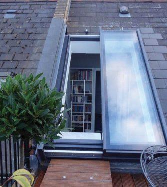 fen tre de toit coulissante partielle glazing vision europe. Black Bedroom Furniture Sets. Home Design Ideas